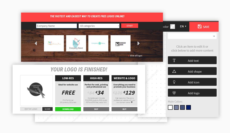Freelogodesign.org / Düşük Çözünürlük Ücretsiz Logo Tasarım