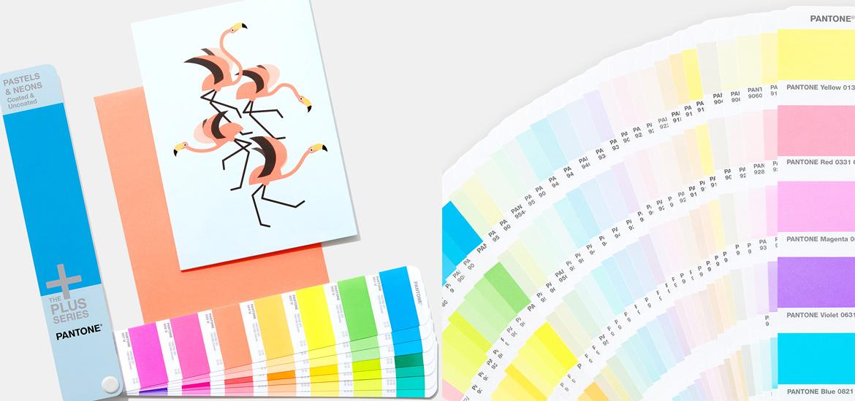 Pantone Pastel ve Neons Renk Kataloğu