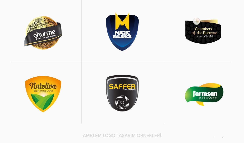 Logo Tasarım Çeşitleri / Amblem Tasarım Türü Örnekleri