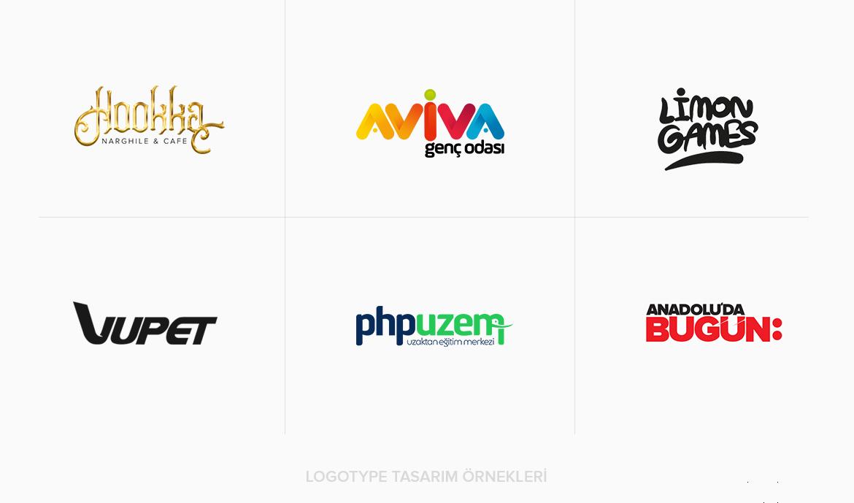 Logo Tasarım Çeşitleri / Logotype Tasarım Türü Örnekleri