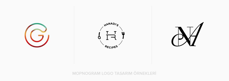 Monogram Logo Tasarım Örnekleri