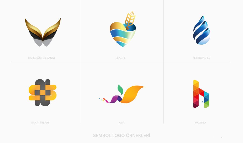 Logo Tasarım Çeşitleri / Sembol Tasarım Türü Örnekleri