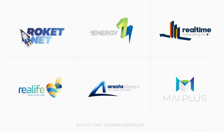 Logo Tasarım Çeşitleri / Soyut Logo Tasarım Türü Örnekleri