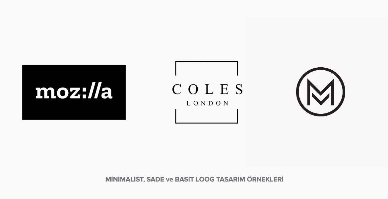 2018 Minimalist Logo Tasarım Örnekleri