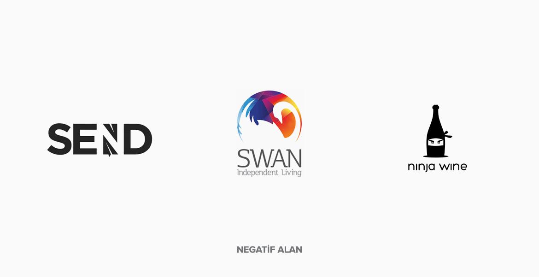 Negatif Alan Logo Tasarım Örnekleri
