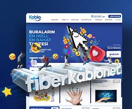 Fiberkablonet.com Web Arayüz Tasarım