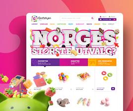 Godtebyen E Ticaret Web Arayüz Tasarımı